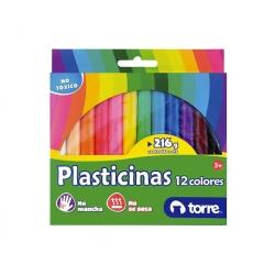 Plasticina 12 colores imagia Torre