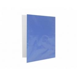 Archivador Plastificado con Accoclip Azul CI