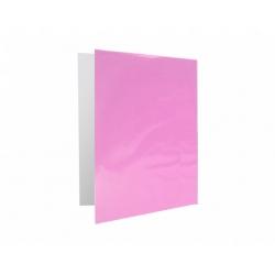 Archivador Plastificado con Accoclip rosado CI
