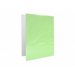 Archivador Plastificado con Accoclip verde claro CI
