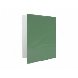Archivador Plastificado con Accoclip verde oscuro CI