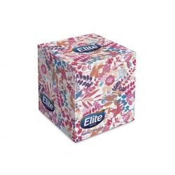 Pañuelos Desechable cubo 60 hojas Elite