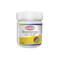 Adhesivo y Sellador Decoupage frasco 100ml. Artel