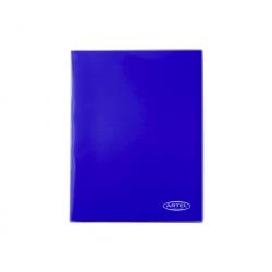 Carpeta Plastificada Azul con Gusano Artel