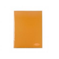 Carpeta Plastificada naranja con Gusano Artel