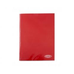 Carpeta Plastificada rojo con Gusano Artel