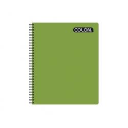 Cuaderno Universitario 100 Hojas 7mm. Colon