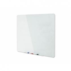 Pizarra de vidrio 90x60cm. magnética Bi-silque