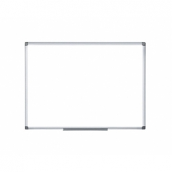 Pizarra Melamina blanca 120x90cm. magnética Bi-silque