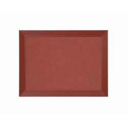 Tablero corcho 60x45 cm kamashi rojo Bisilque