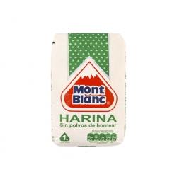 Harina 1 kilo S/Polvos Hornear Montblanc