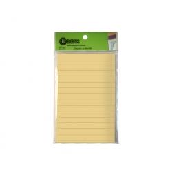 Notas Adhesivas Lineas 100x150mm 100 hojas Big Boss