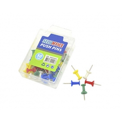 Push Pins 50 unidades colores Selloffice