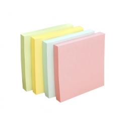 Notas adhesivas 76x76mm. 100Hojas colores Hand