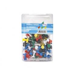 Push Pin colores surtidos 100unid. Hand