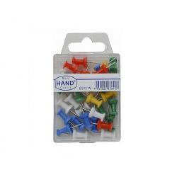 Push Pins colores surtidos 30 unid. Hand
