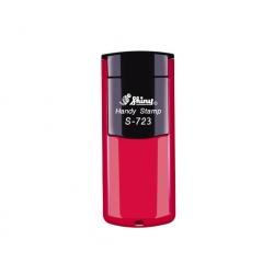 Timbre Sello Bolsillo Handy S-723 Shiny