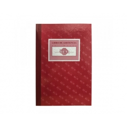 Libro Control de Asistencia 100 Hojas Rem