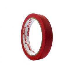 Cinta Masking Tape 18mmx40mts. Rojo Usatape