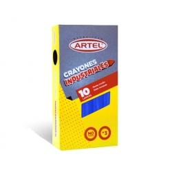 Crayon Industrial Azul 10 und. Artel