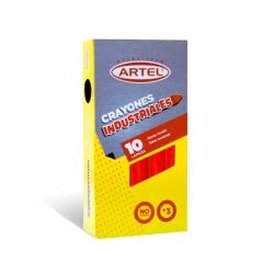 Crayon Industrial Rojo10 und. Artel