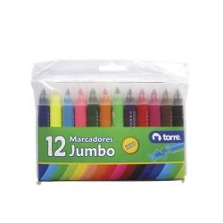 Lápices scripto Jumbo 12 colores Torre