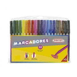 Lápices scripto 20 colores Artel
