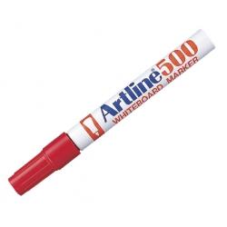 Marcador Pizarra 500 P/Redonda rojo Artline