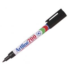 Marcador Permanente Recargable 700 negro P/Fina Artline