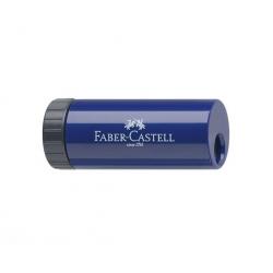 Sacapunta con deposito Azul Berry Faber Castell
