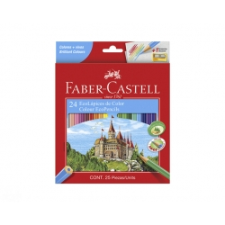 Lapices Acuarelables con Grip 24 colores Faber Castell