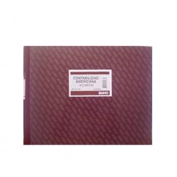 Libro Contable Americano (Nº196) 50 Hojas Buho