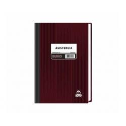 Libro Control de Asistencia (Nº121) 100 Hojas Buho