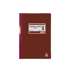 Libro Contable (Nº160) Compra Venta 26 Hojas Buho