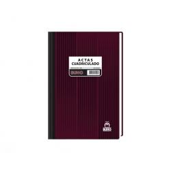 Libro de Acta 1590 cuadriculado 200 Hojas Buho