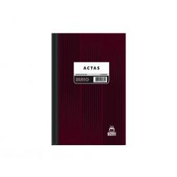 Libro de Acta 584 Lineal 100 Hojas Buho