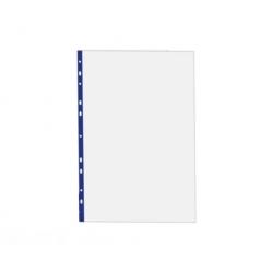 Funda Plastica Oficio R-Azul 100u Hand