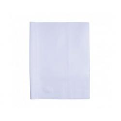 Forro cuaderno college Blanco Adix