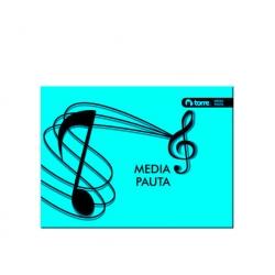 Cuaderno musica 1/2 Pauta 10 hojas 25 und. Torre
