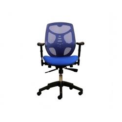 Silla oficina Ejecutiva Identity Base Nylon Azul Econosillas