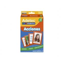 Flash Cards Didácticas Acciones - Adetec