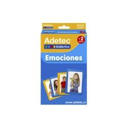 Flash Cards Didácticas Emociones - Adetec