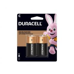 Pila Alcalina (C) mediana - Duracell