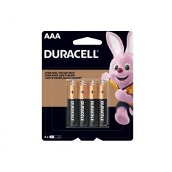 Pila Alcalina (AAA) 4 und. - Duracell