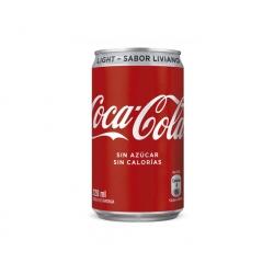 Bebida en Lata 220cc. Light Mini Coca Cola
