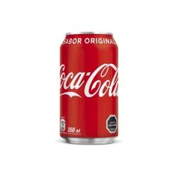 Bebida en Lata 350cc. Original Coca Cola