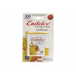 Endulzante Sucralosa 300 tabletas Endolce