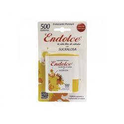 Endulzante Sucralosa 500 tabletas Endolce