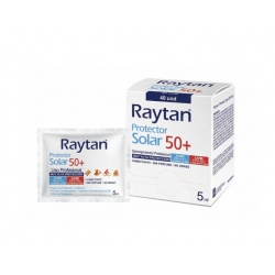 Protector Solar Sachet FPS 50+ 5ml. 100und. Raytan