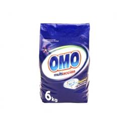 Detergente en Polvo Multiacción 6 Kilos Omo